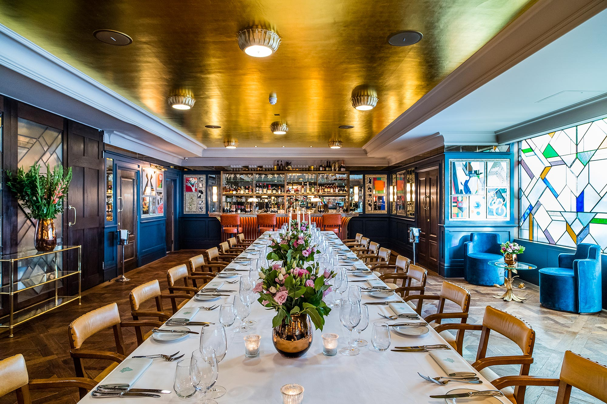 Private Dining Room In Central London The Ivy Soho Brerie
