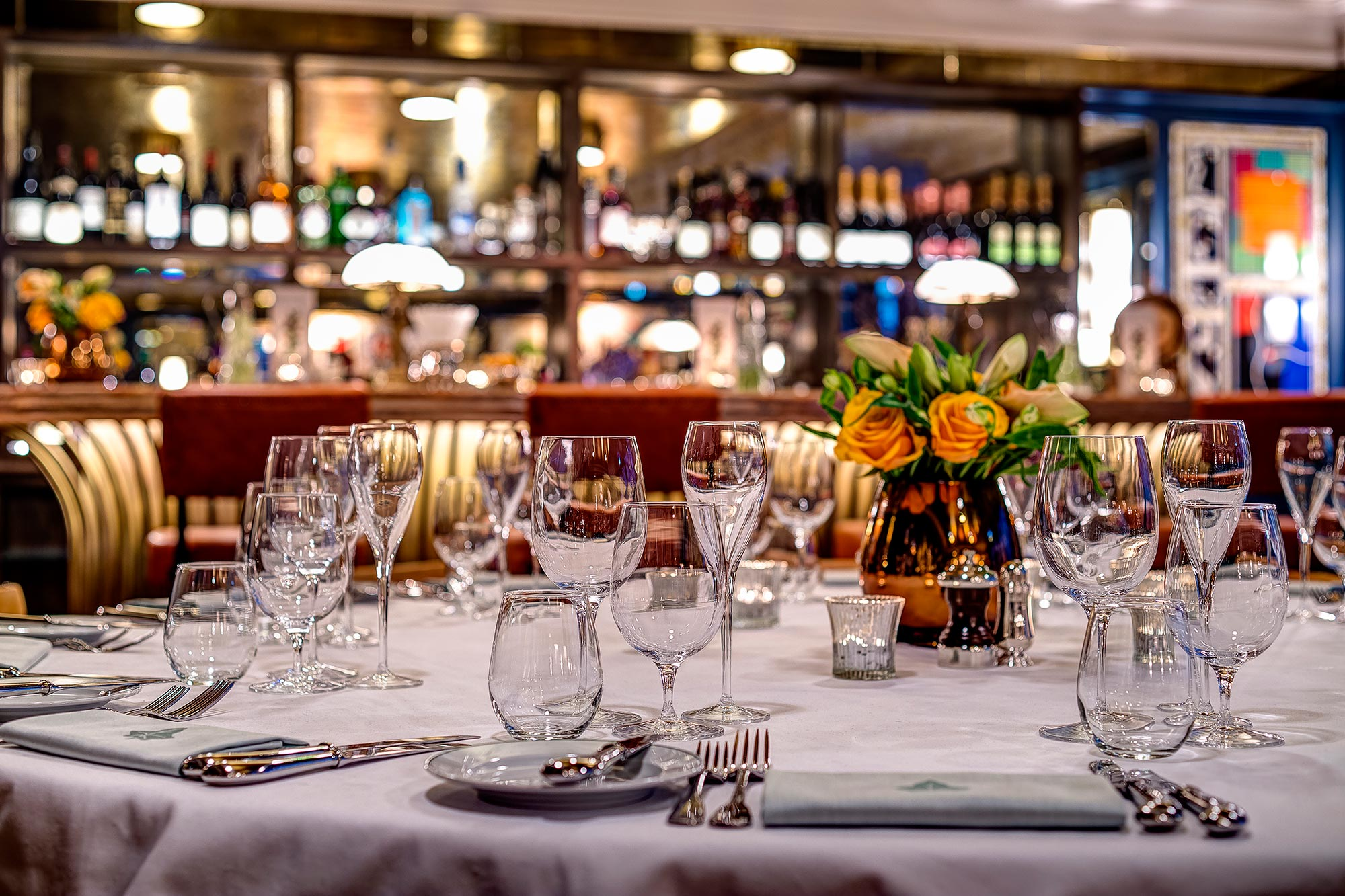 The Private Dining Room at The Ivy Soho Brasserie - The Ivy Soho Brasserie
