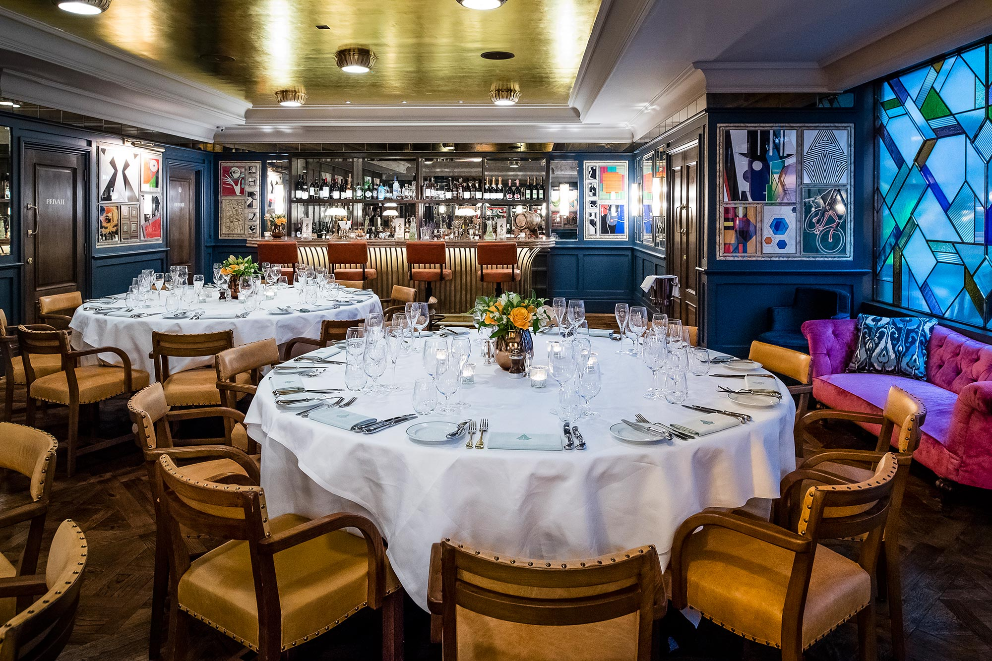 Private Dining Room - The Ivy Soho Brasserie, London - The Ivy Soho Brasserie