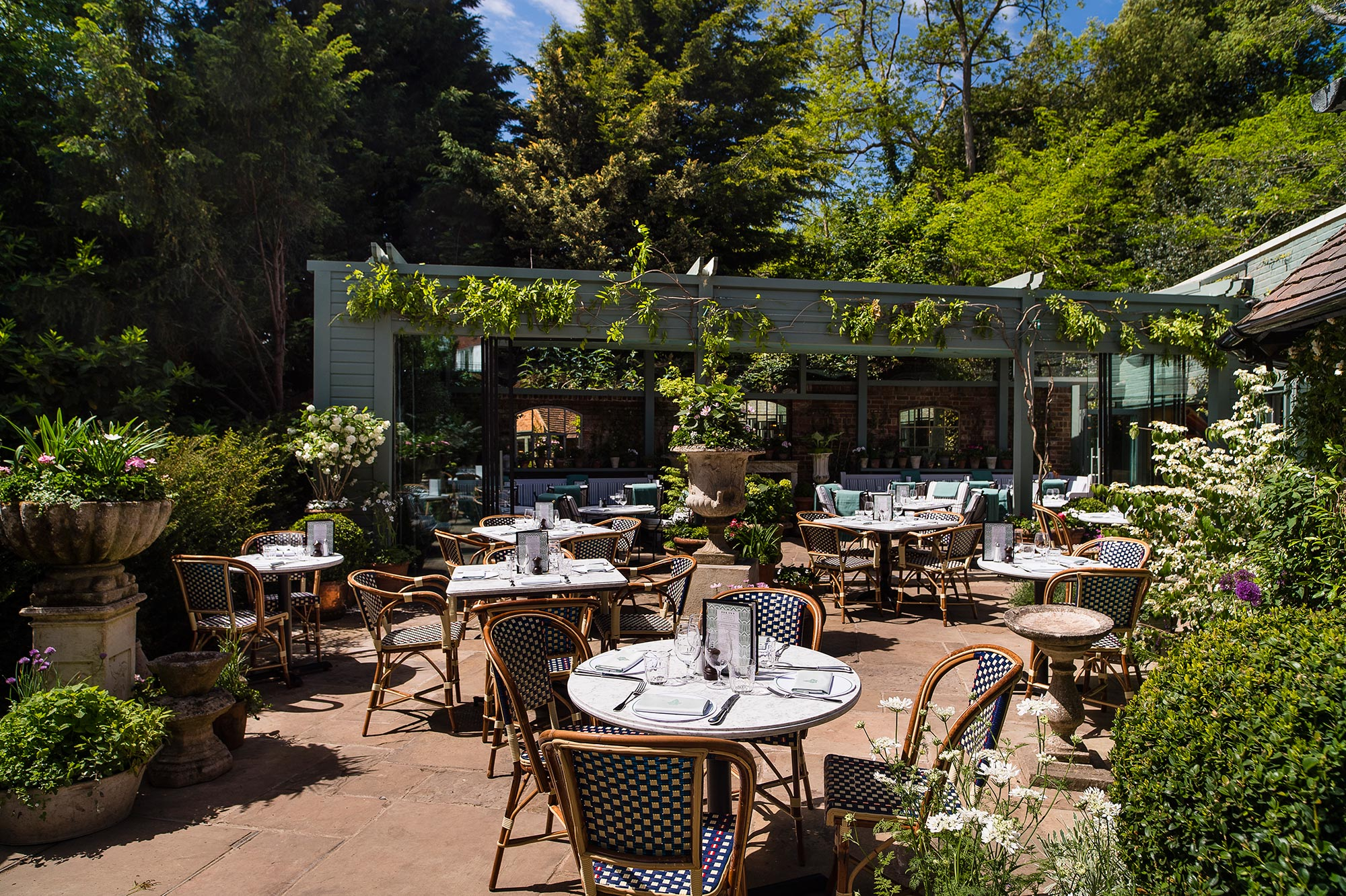 The Garden at The Ivy Cobham Brasserie - The Ivy Cobham Brasserie