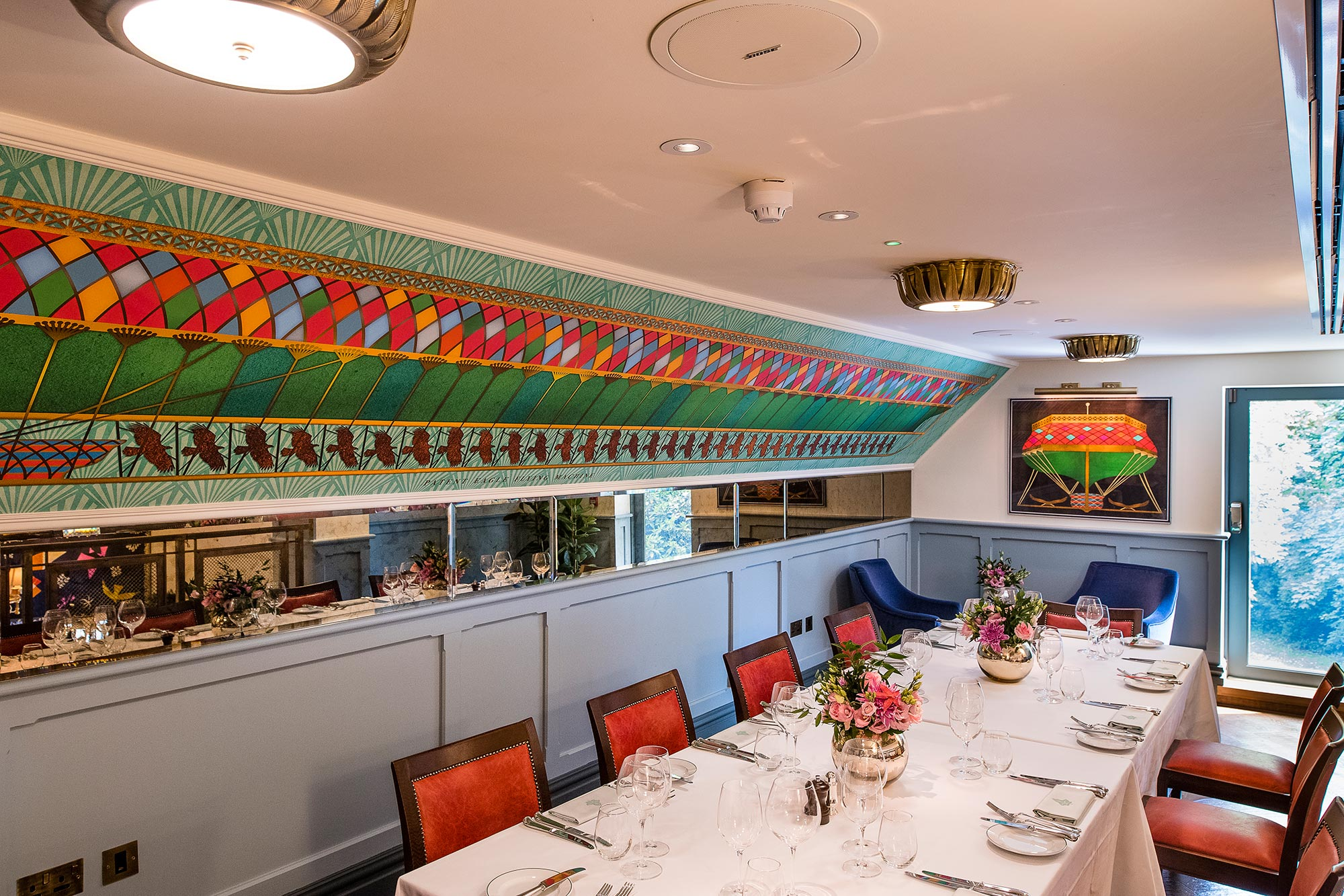 The Ivy Cobham Brasserie - corporate lunch - The Ivy Cobham Brasserie