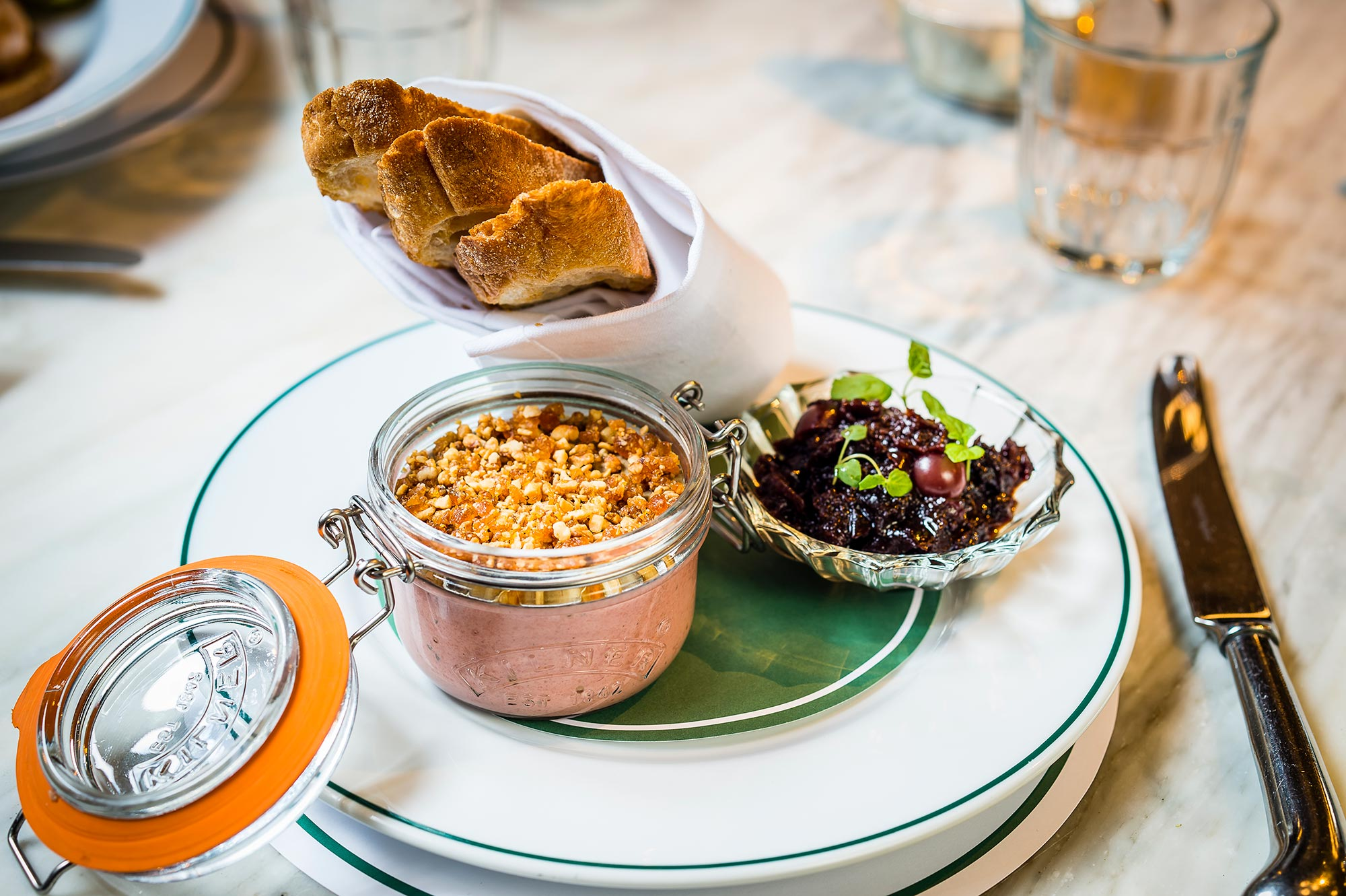 Chicken Liver Parfait at The Ivy Marlow Garden - The Ivy Marlow Garden
