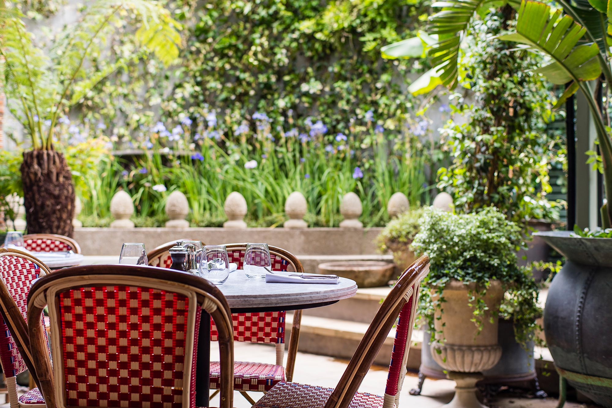 All Day Dining In The City Of London The Ivy City Garden