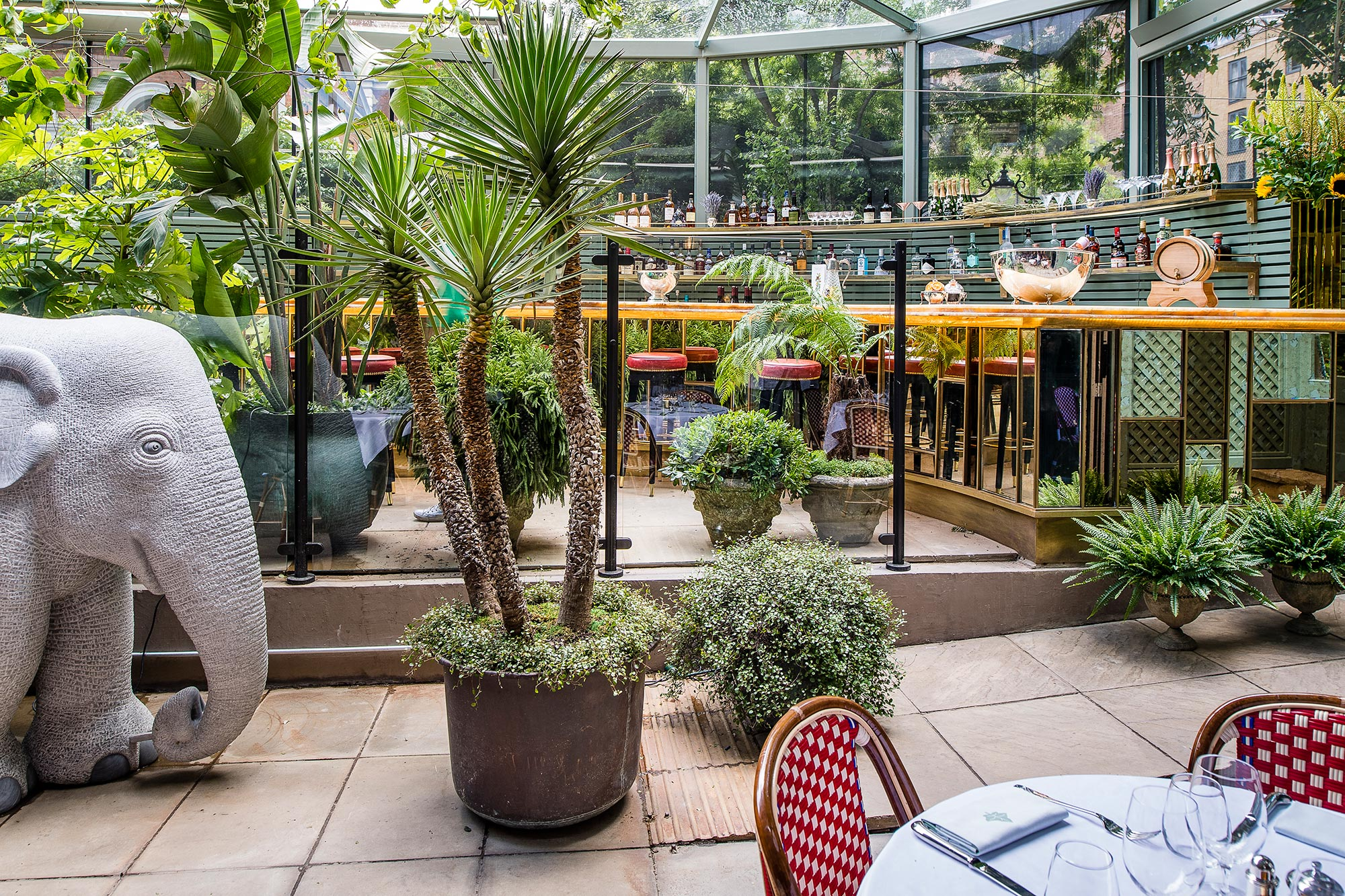 Restaurant Image Gallery The Ivy City Garden London