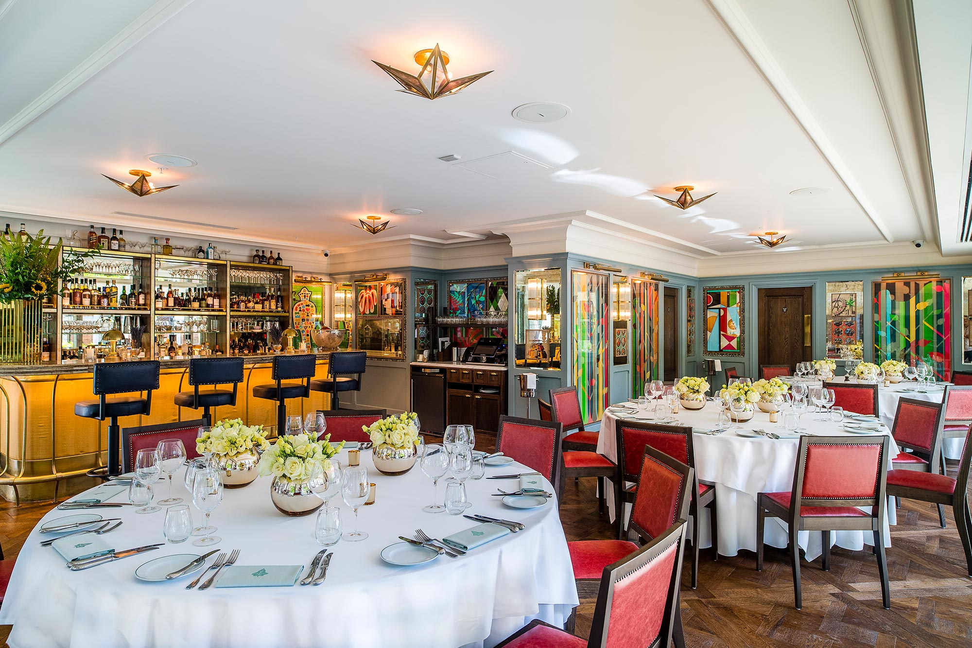 Private Dining Room in London - The Ivy City Garden - The Ivy City Garden