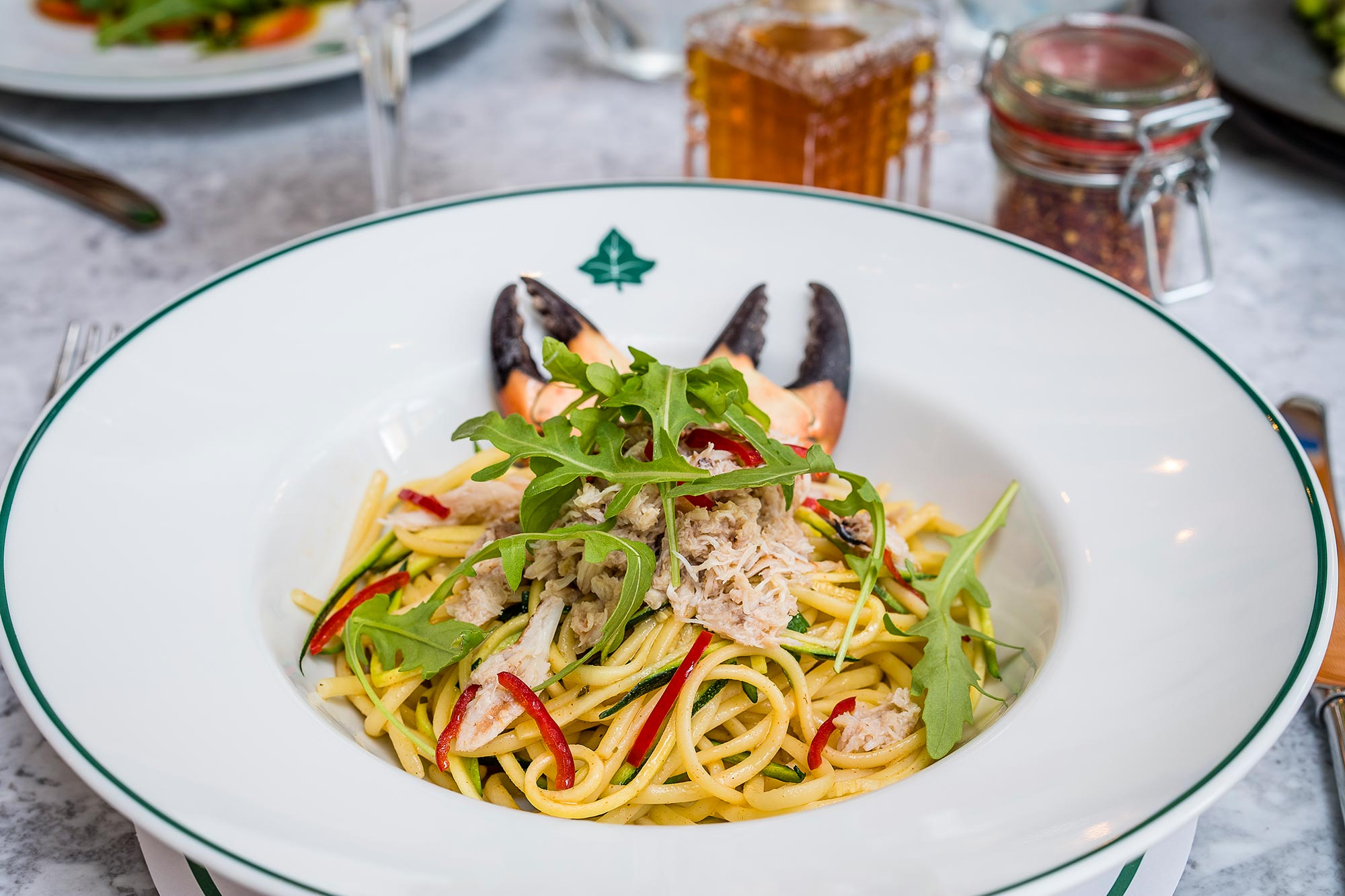 The Ivy Tower Bridge, London - Crab linguine - The Ivy Tower Bridge