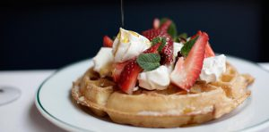 The Ivy on the Square Edinburgh - The Ivy Collection Waffles