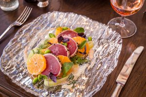 The Ivy on the Square Edinburgh - Yellowfin Tuna Salad