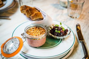 The Ivy on the Square Edinburgh - Chicken Liver Parfait
