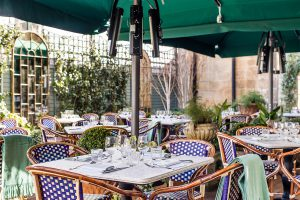 Terrace Dining in Bath, The Ivy Bath Brasserie