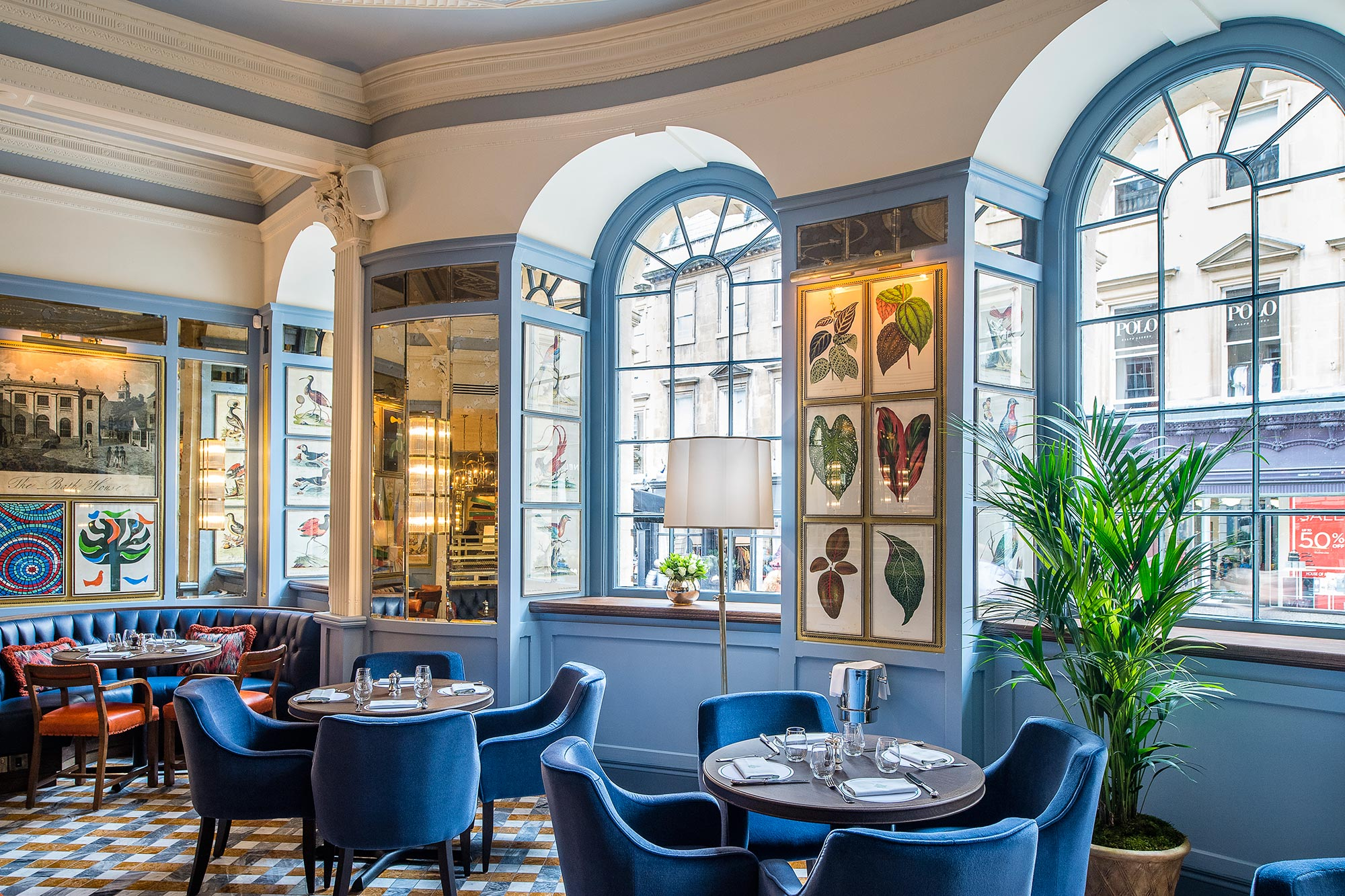 Restaurant in Bath, Milsom Street, The Ivy Bath Brasserie - The Ivy Bath Brasserie