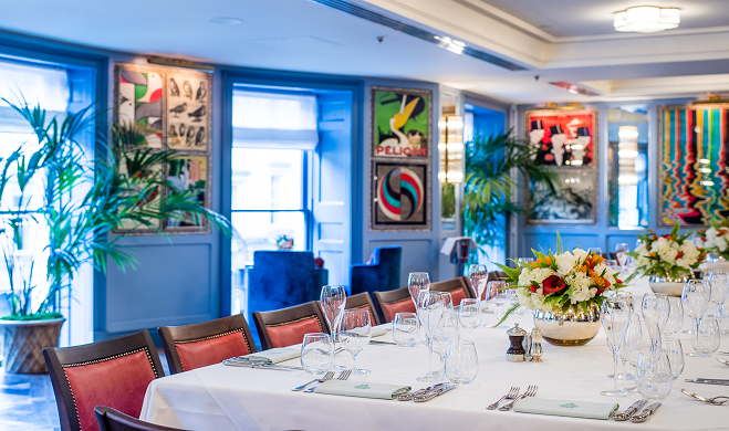 Private Dining at The Ivy Bath Brasserie