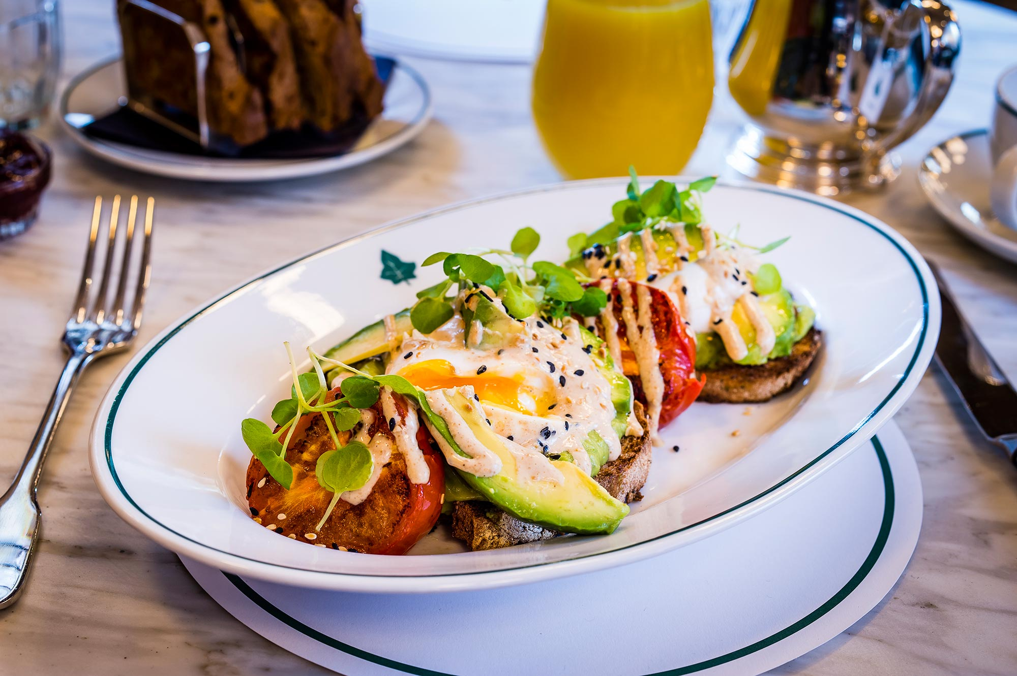 Avocado, Tomato & Sesame at The Ivy Harrogate - The Ivy Harrogate