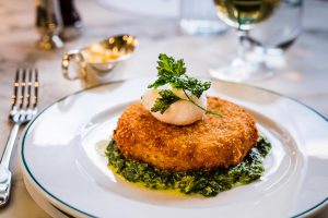 Dinner in Harrogate, The Ivy Harrogate Brasserie - Fish Cake