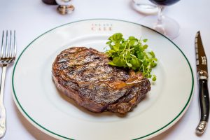 Dinner in Harrogate, Rib eye steak at The Ivy Harrogate Brasserie
