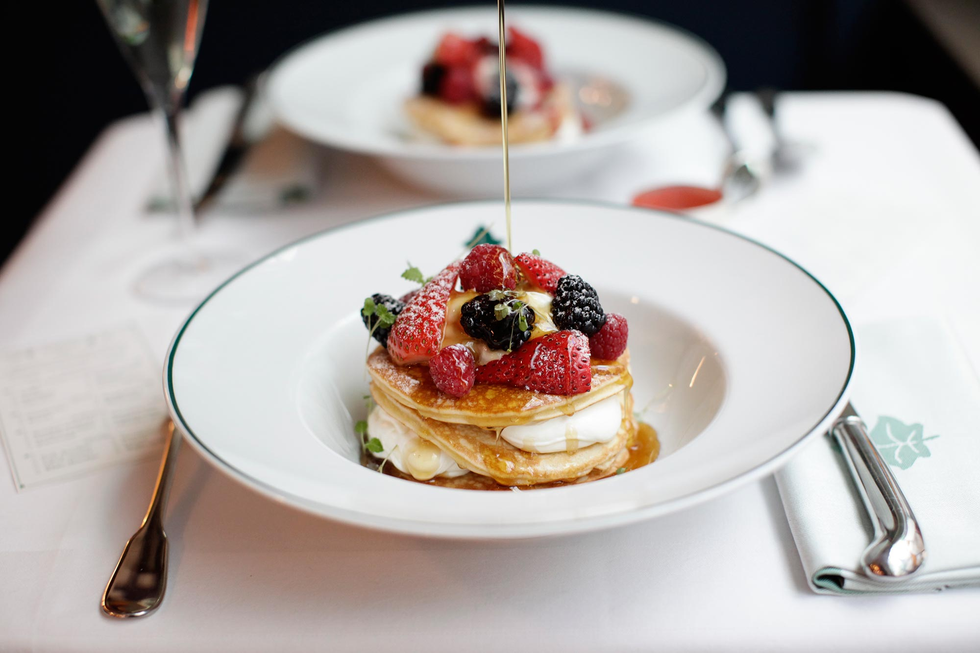 Breakfast and Brunch in Harrogate, The Ivy Harrogate Brasserie - Pancakes - The Ivy Harrogate