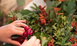 The Ivy Harrogate - Christmas Wreath Making with Helen James