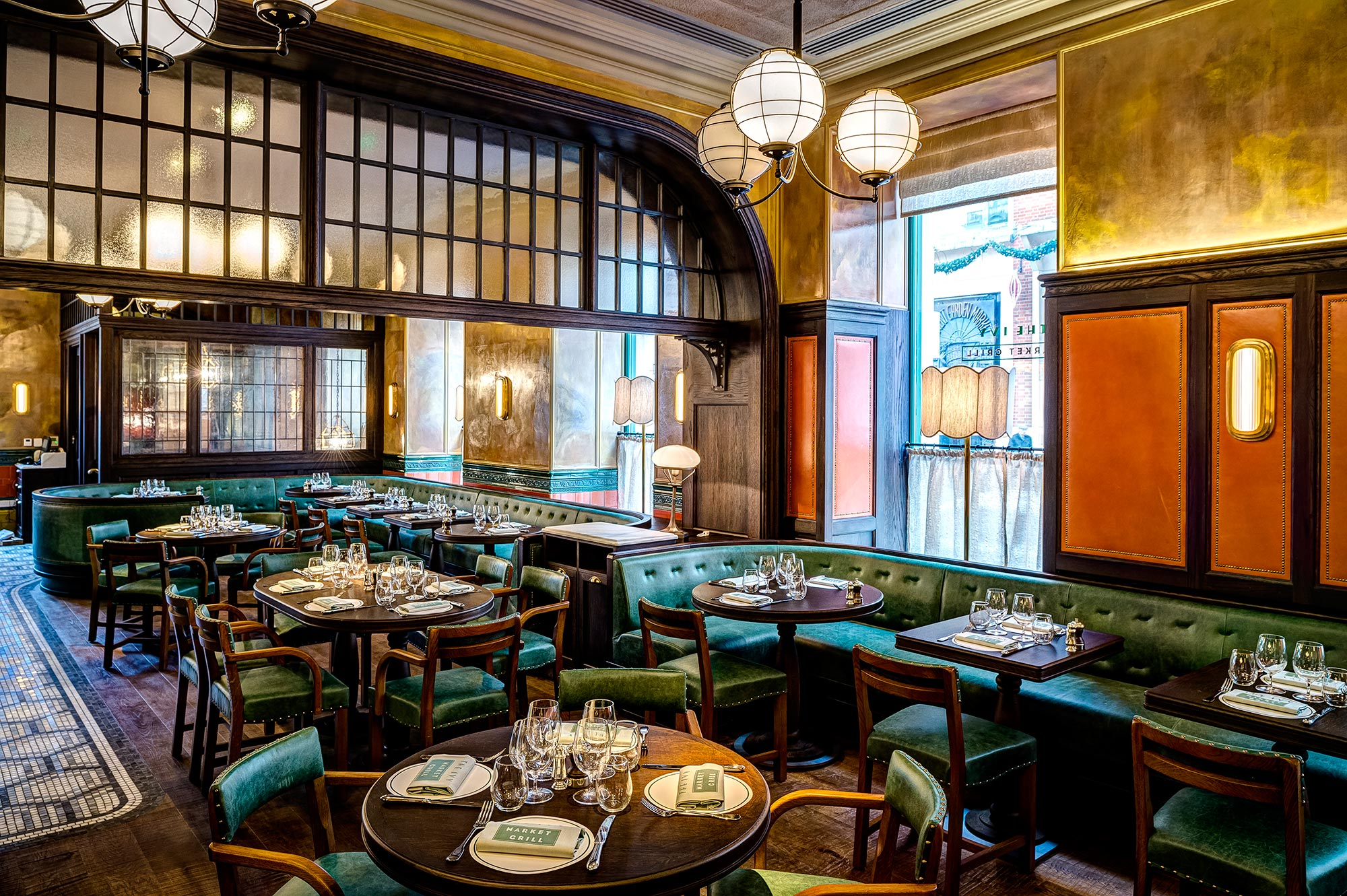 The Ivy Market Grill restaurant by Paul Winch Furness - The Ivy Market Grill