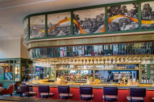 The bar at The Ivy St. Helen's Square in York