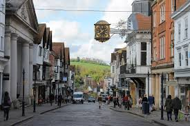 The Ivy Castle View Guildford - Guildford high street