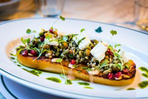 Brunch at The Ivy Cafe Blackheath - Roasted Butternut Squash