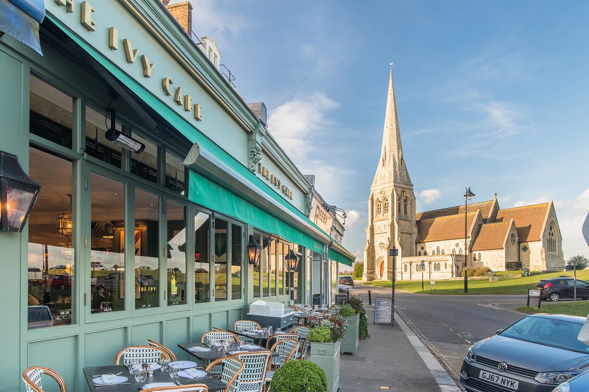 Restaurant in Blackheath - The Ivy Cafe, Blackheath - The Ivy Café, Blackheath