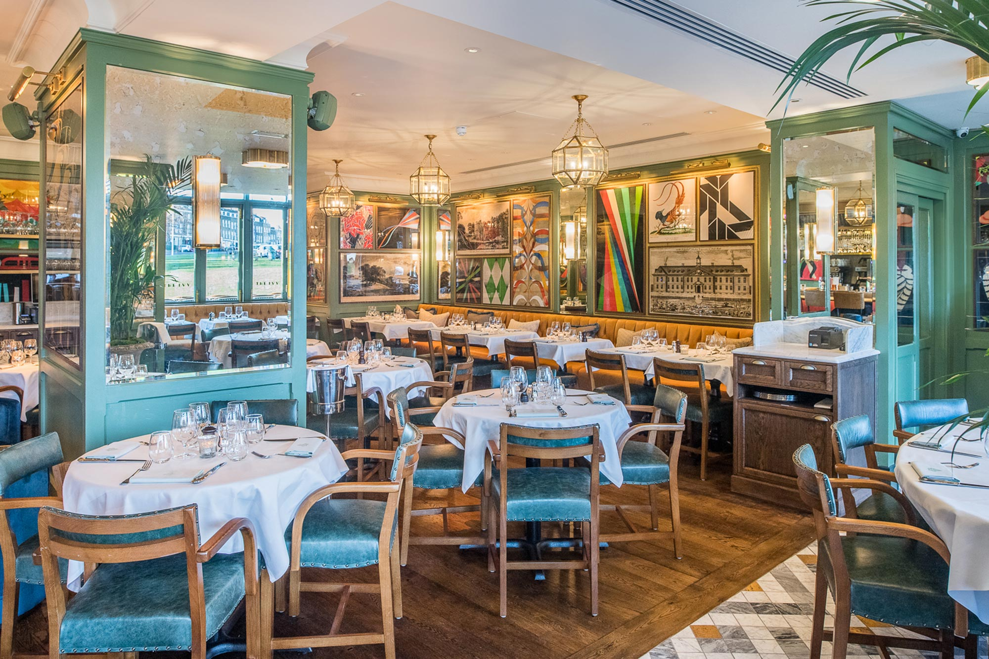 Dining out in Blackheath, The Ivy Cafe, Blackheath - The Ivy Café, Blackheath