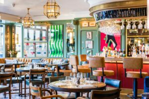 Brunch at the Ivy Cafe, Blackheath in London