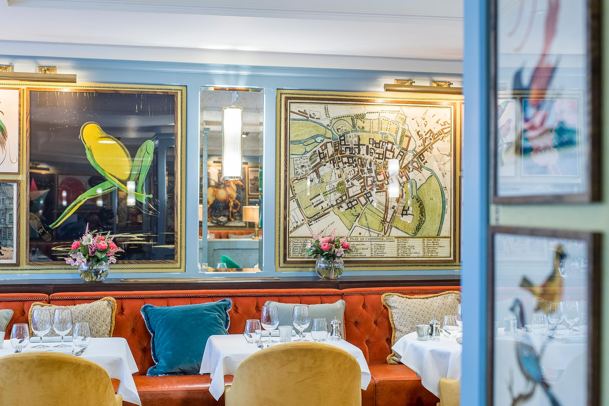 Places to eat in Cambridge, The Ivy Cambridge Brasserie - The Ivy Cambridge Brasserie