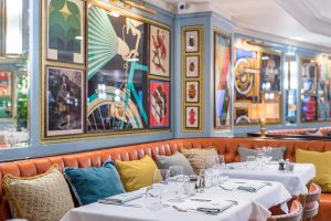 Eating Lunch in Cambridge, The Ivy Cambridge Brasserie