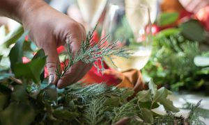 The Ivy Cambridge Brasserie - Wreath Making Masterclass with The Flower House