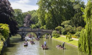 The Ivy Cambridge Brasserie - Punting Package