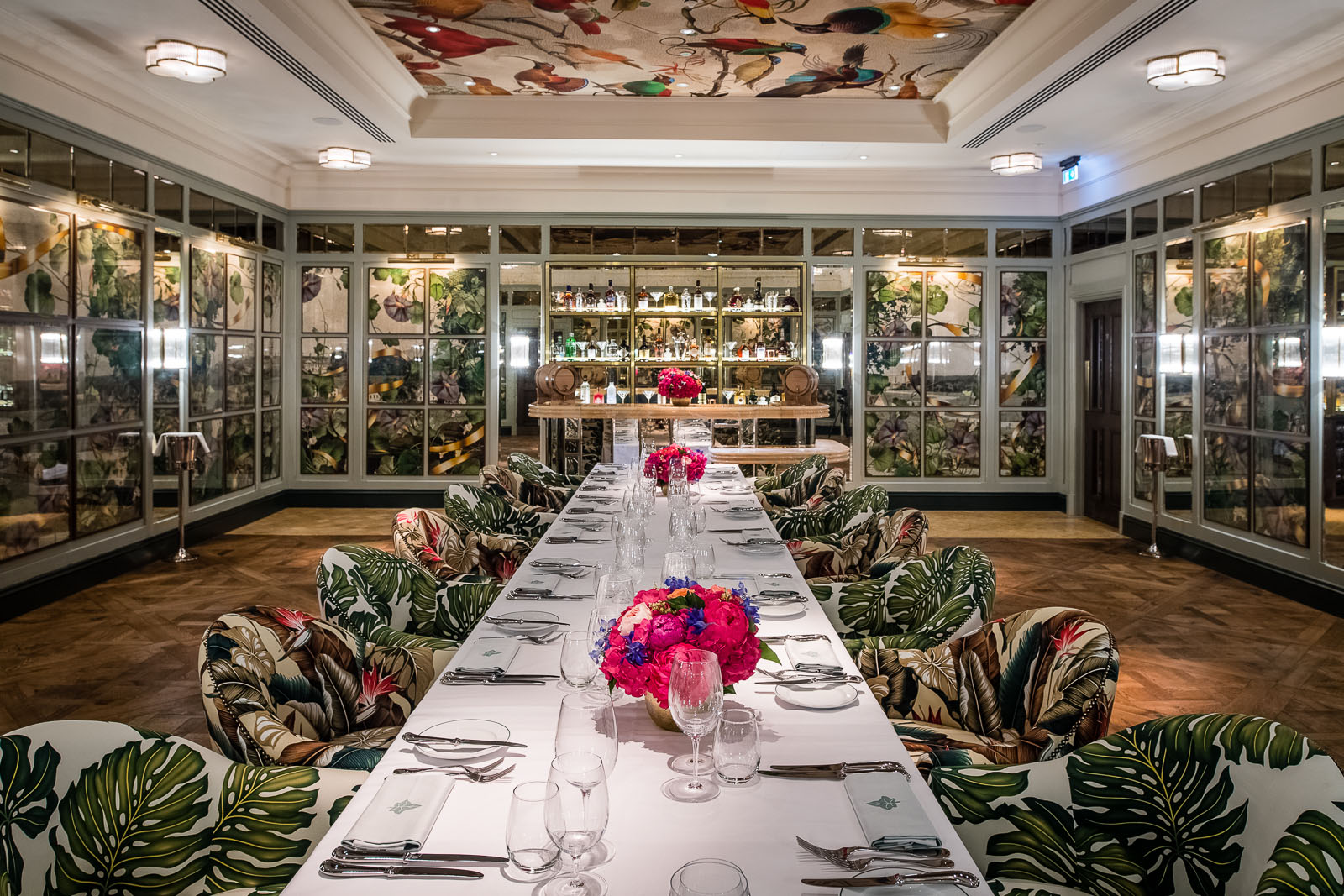 Private Dining And Hire The Ivy Dawson Street Dublin
