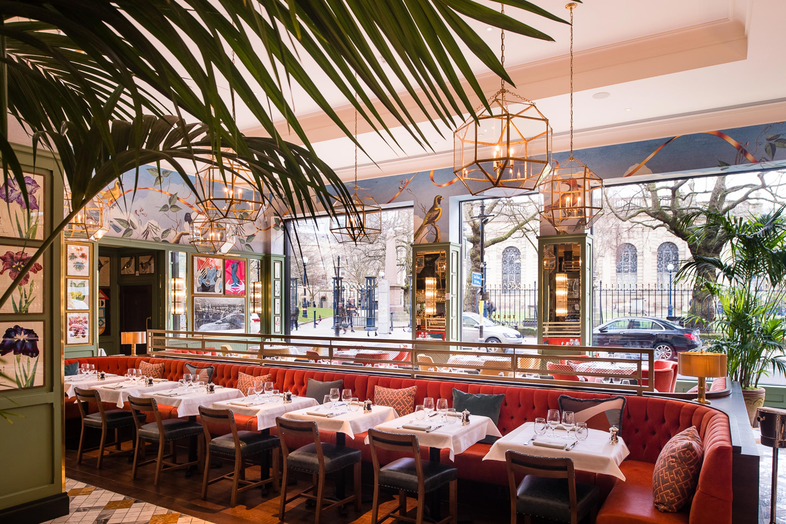 All Day Casual Dining Restaurant The Ivy Temple Row
