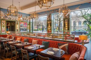 Dining out in Birmingham, The Ivy Temple Row, Birmingham