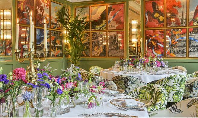 Private Dining at The Ivy Temple Row