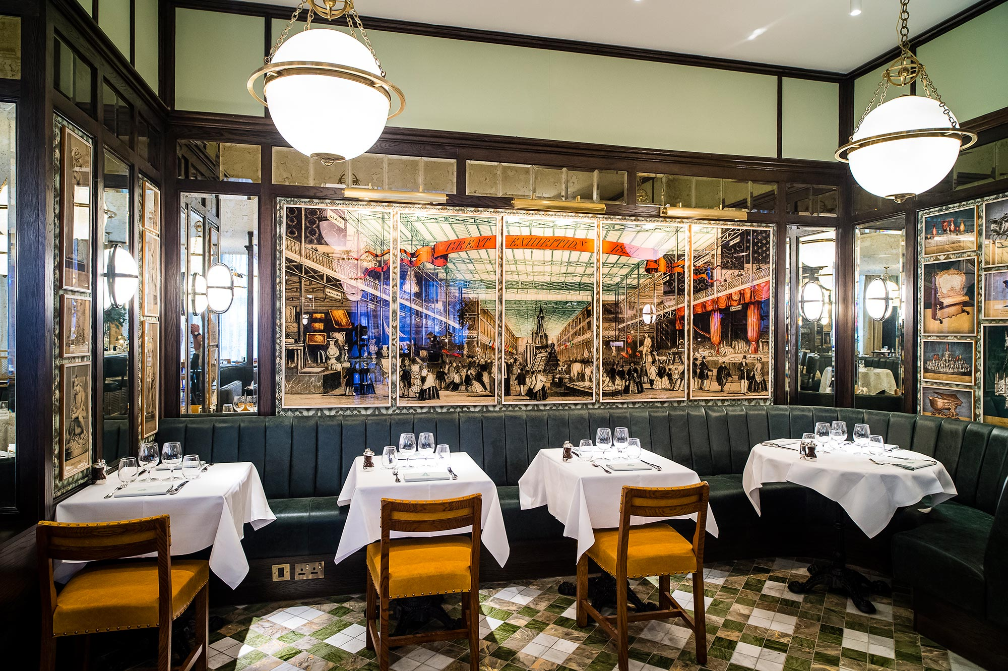 Restaurant Image Gallery The Ivy Kensington Brasserie