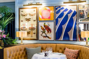 Dining out in Winchester at The Ivy Winchester Brasserie