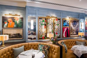 Breakfast near Winchester Cathedral at The Ivy Winchester Brasserie