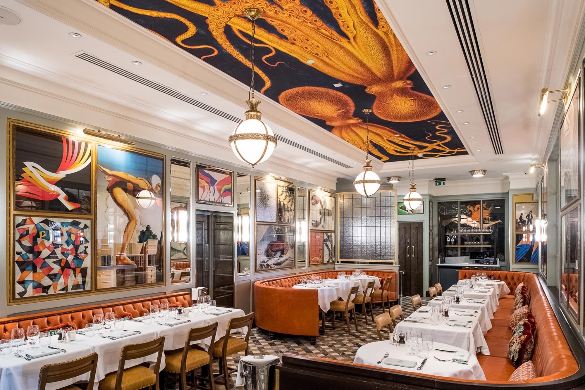 Dining out in Brighton - The Ivy in the Lanes Brighton - The Ivy In The Lanes – Brighton