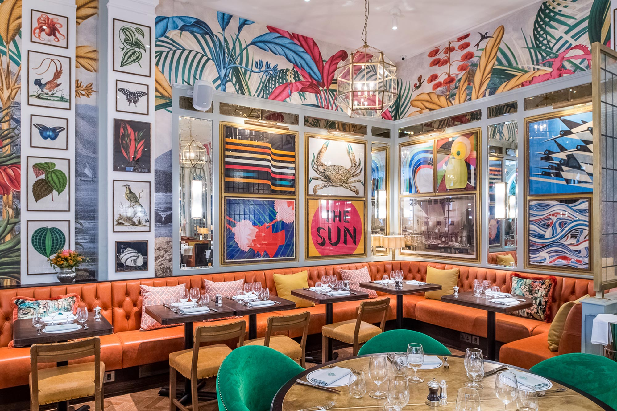 The Ivy In The Lanes Fine Dining In Brighton Sussex