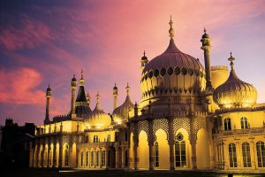 The Brighton Pavilion near The Ivy in the Lanes Brighton