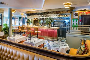 The bar in St Albans, The Ivy St Albans Brasserie