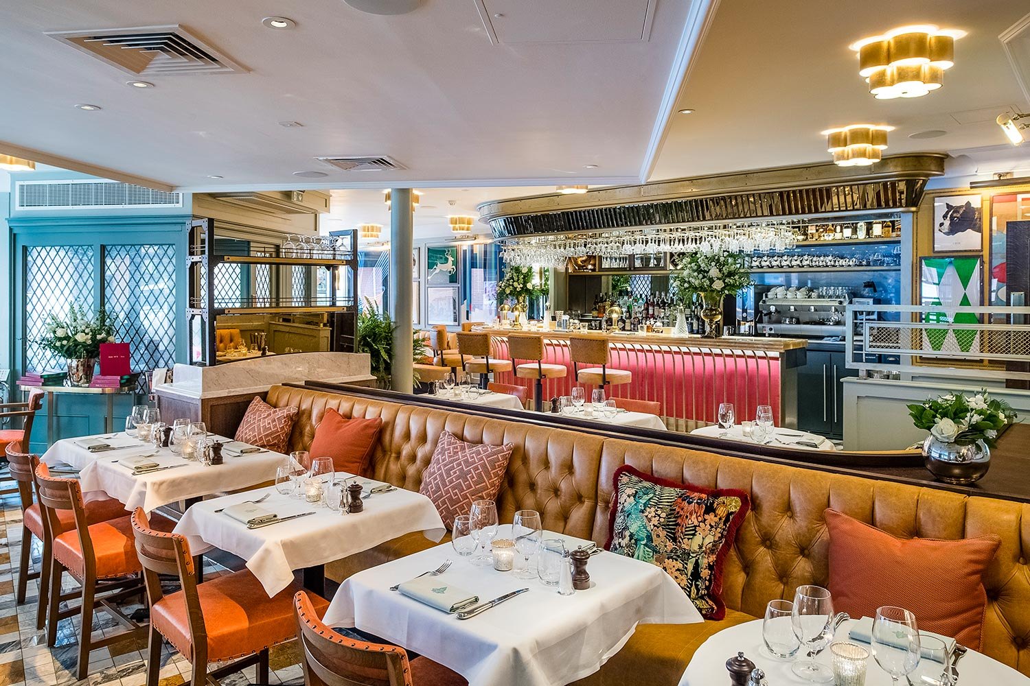 Eating out in St Albans, The Ivy St Albans Brasserie - The Ivy St Albans Brasserie