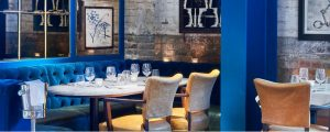 Place to eat in King's Cross, Granary Square Brasserie