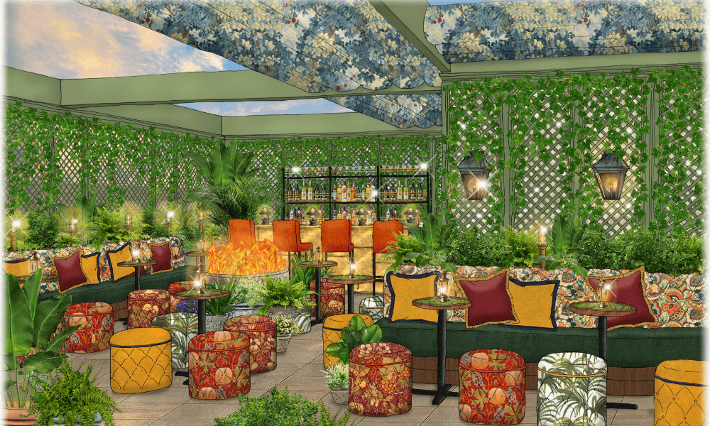 Rooftop Bar In Manchester The Ivy Spinningfields The