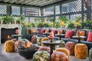 The Ivy Spinningfields Roof Terrace