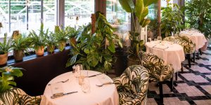 The Ivy in the Park, Canay Wharf Interiors 1