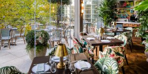 The Ivy in the Park, Canay Wharf Interiors 12