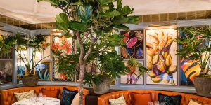 The Ivy in the Park, Canay Wharf Interiors 5